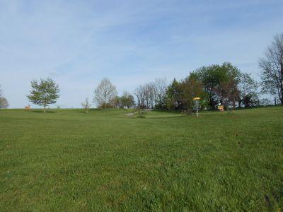 Herb Botts Memorial Park, Indian Mound DGC, Hole 15 Short approach