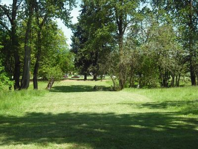Alton Baker Park, Main course, Hole 4 Tee pad