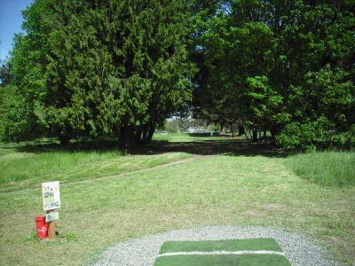 Alton Baker Park, Main course, Hole 17 Tee pad