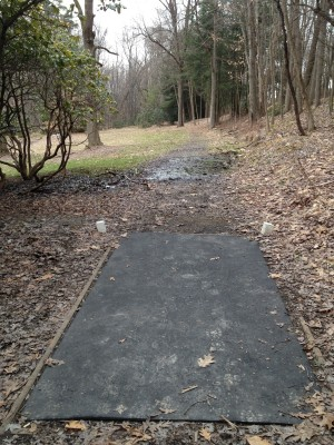Hasson Park, Main course, Hole 1 Tee pad