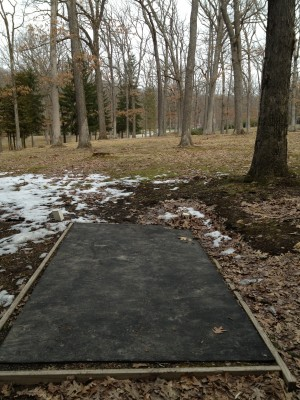 Hasson Park, Main course, Hole 7 Tee pad
