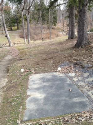 Hasson Park, Main course, Hole 5 Tee pad
