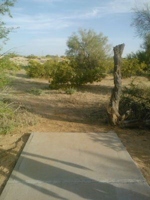 Red Mountain Park, North, Hole 2 Long tee pad