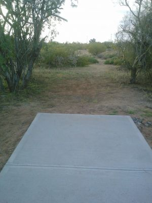 Red Mountain Park, North, Hole 6 Long tee pad