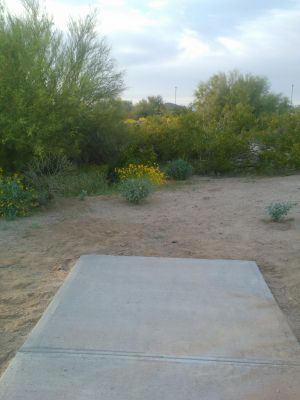 Red Mountain Park, North, Hole 9 Long tee pad