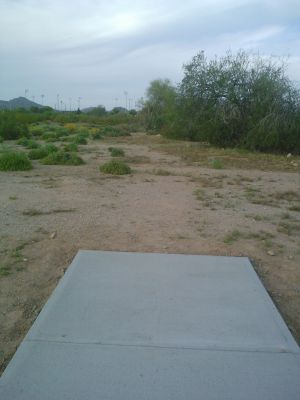 Red Mountain Park, North, Hole 5 Long tee pad