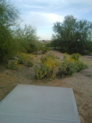 Red Mountain Park, North, Hole 8 Long tee pad