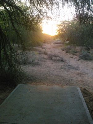Red Mountain Park, North, Hole 13 Tee pad
