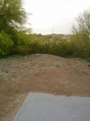 Red Mountain Park, North, Hole 7 Long tee pad