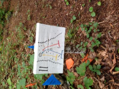 Dacey Fields, Main Course, Hole 11 Hole sign