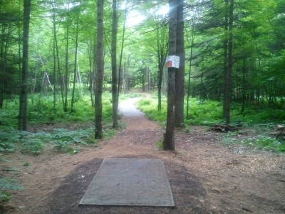 Campbell Highlands, Main course, Hole 7 Tee pad