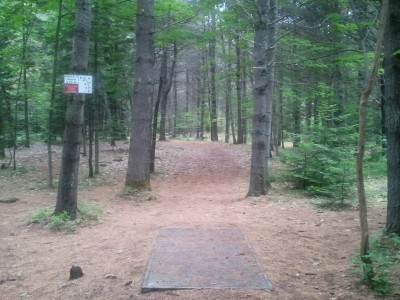 Campbell Highlands, Main course, Hole 5 Tee pad