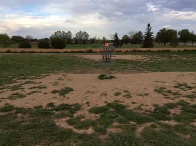 Valmont City Park, Main course, Hole 13 Putt