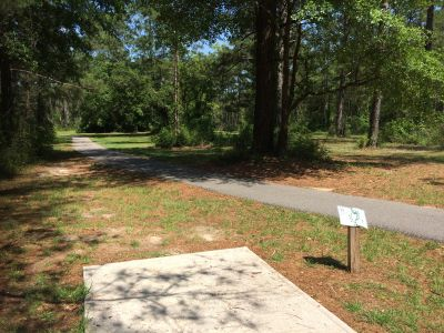 Fort Rucker DGC, Main course, Hole 11 Short tee pad