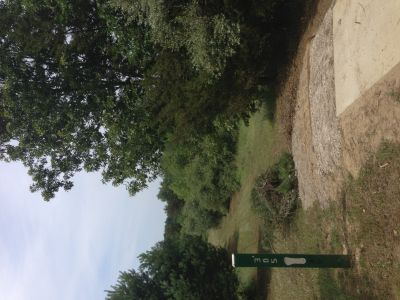 Merrill Park West, The Gulch, Hole 3 Tee pad