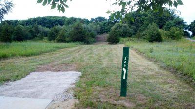 Merrill Park West, The Gulch, Hole 15 Short tee pad