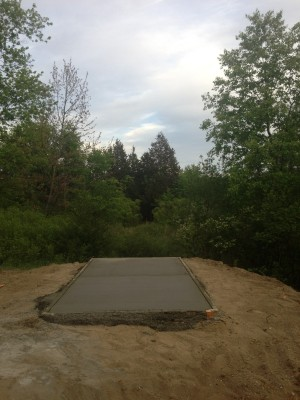 Merrill Park West, The Gulch, Hole 14 Short tee pad