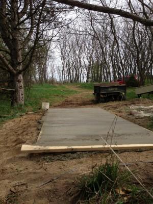 Merrill Park West, The Gulch, Hole 17 Short tee pad