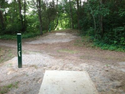 Merrill Park West, The Gulch, Hole 5 Tee pad
