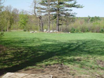 Dragan Field, Main course, Hole 3 Tee pad