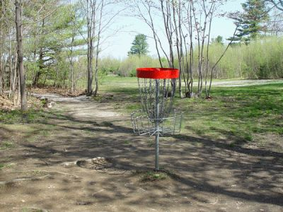 Dragan Field, Main course, Hole 4 Reverse (back up the fairway)