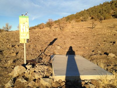 Reno Adventure Park, Tom's Cliff Top Course - Green, Hole 16 Tee pad