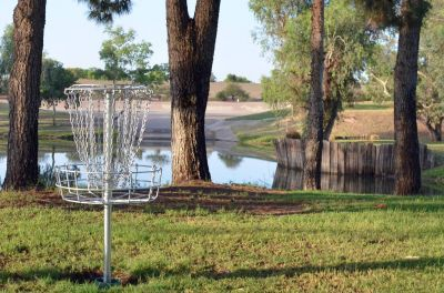 Fiesta Lakes, Main course, Hole 8 Putt