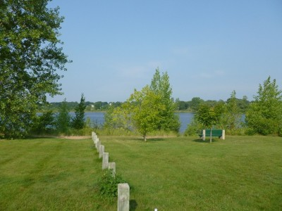 Ludington Park, Main course, Hole 7 Tee pad