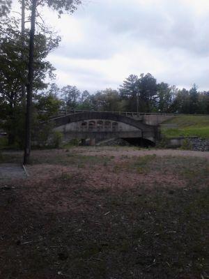 Powder Mill DGC, Main course, Hole 11 Short tee pad