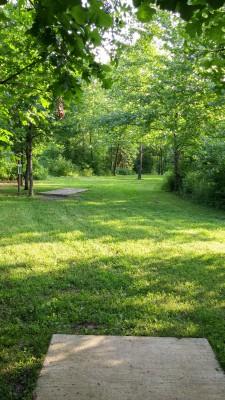 Hazel Landing Park, Main course, Hole 17 Long tee pad
