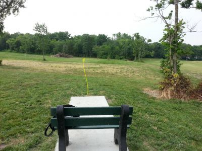 Rose Park, Main course, Hole 4 Tee pad