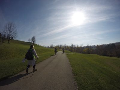 North Strabane Township DGC, Main course, Hole 9 Long tee pad