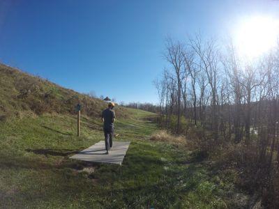 North Strabane Township DGC, Main course, Hole 8 Long tee pad