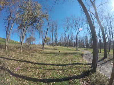 North Strabane Township DGC, Main course, Hole 2 Tee pad