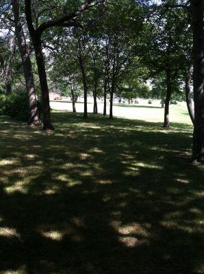 Baughman-Belatti Park, Main course, Hole 5 Tee pad