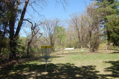 University of Massachusetts - Amherst, Orchard Hill Disc Golf, Hole 6 Reverse (back up the fairway)