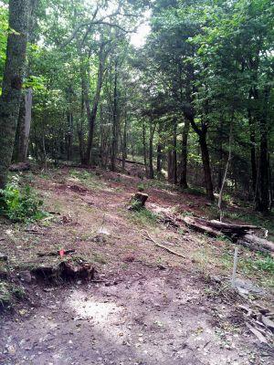 Mountain Lake Lodge, Main course, Hole 6 Middle tee pad