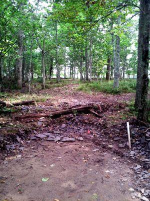 Mountain Lake Lodge, Main course, Hole 7 Middle tee pad