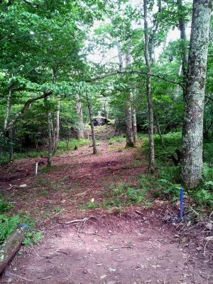 Mountain Lake Lodge, Main course, Hole 4 Long tee pad