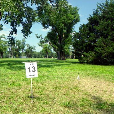 Fairmont Park, Main course, Hole 13 Tee pad