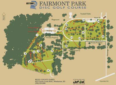 Fairmont Park, Main course, Hole 1