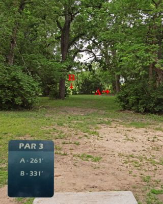 Fairmont Park, Main course, Hole 5 Tee pad