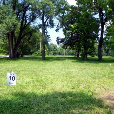 Fairmont Park, Main course, Hole 10 Tee pad