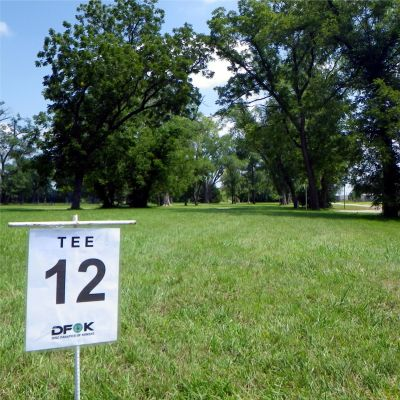 Fairmont Park, Main course, Hole 12 Tee pad