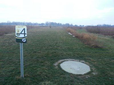 Osborn Park, Main course, Hole 4 Tee pad