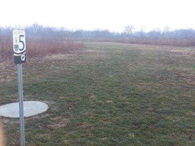 Osborn Park, Main course, Hole 5 Tee pad