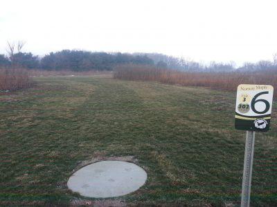 Osborn Park, Main course, Hole 6 Tee pad