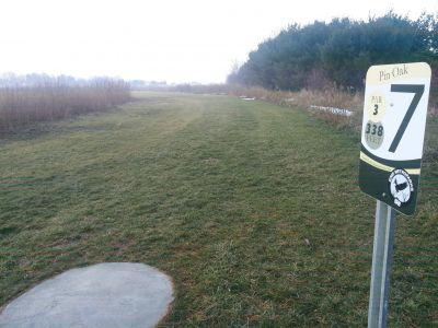 Osborn Park, Main course, Hole 7 Tee pad
