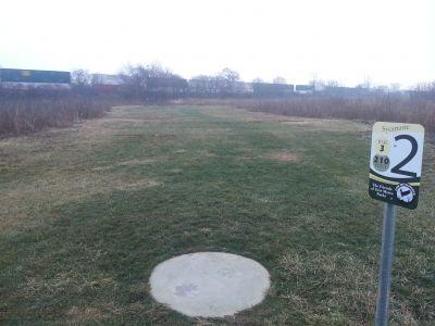 Osborn Park, Main course, Hole 2 Tee pad