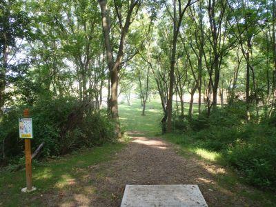 South Hills Park, Main course, Hole 4